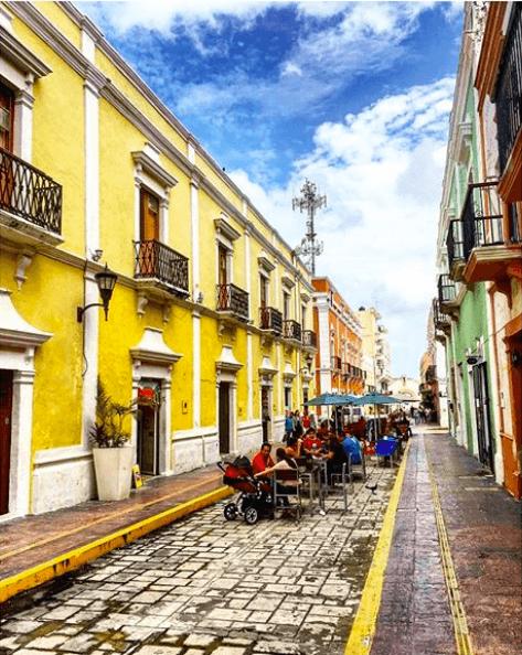 Yucatan Road trip itinéraire - Campeche- Fmr travelblog