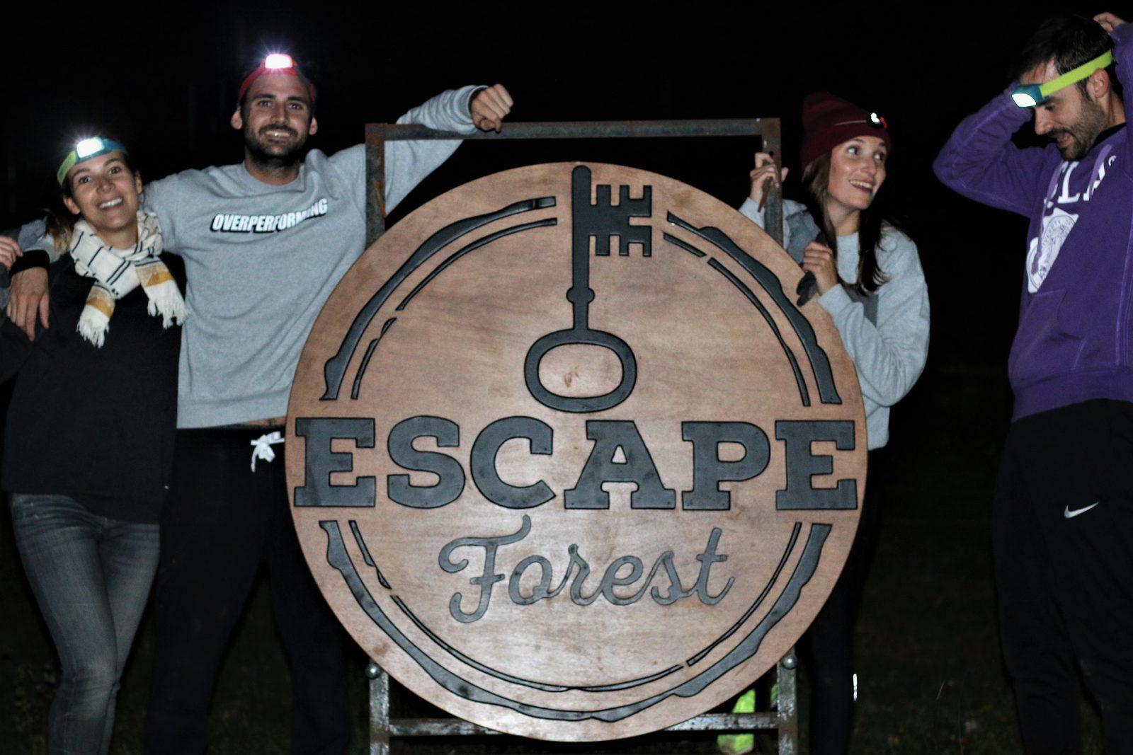 Escape Forest - Le bois de Rosoy - FMR TRavel blog