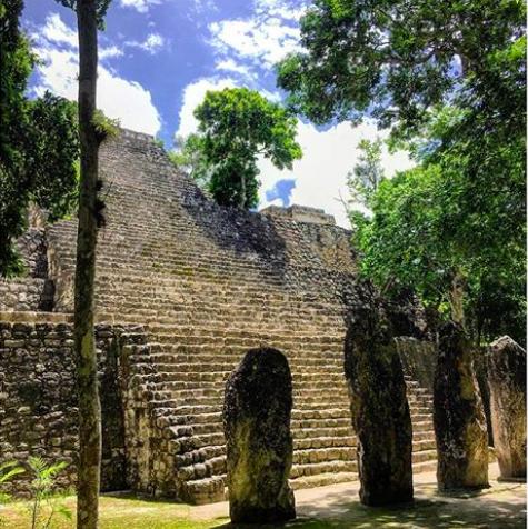 Yucatan Road trip itinéraire - Calakmul- Fmr travelblog