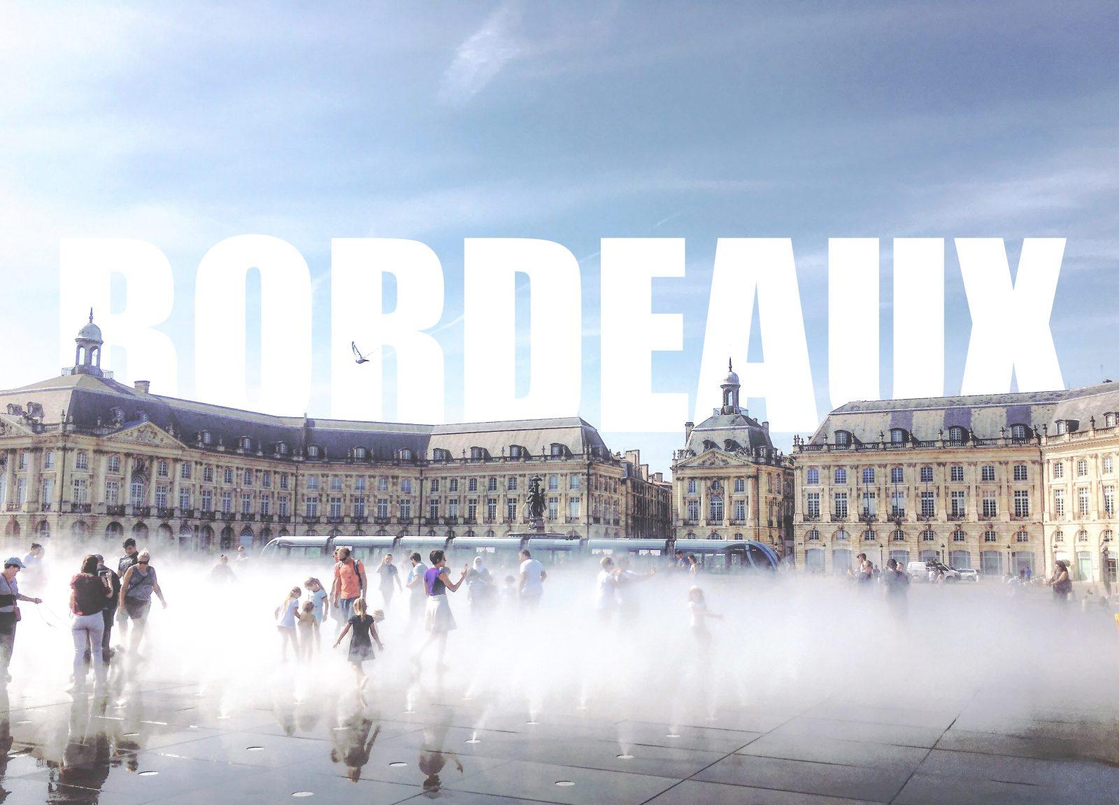 mirroir d'eau Bordeaux - FMR Travelblog