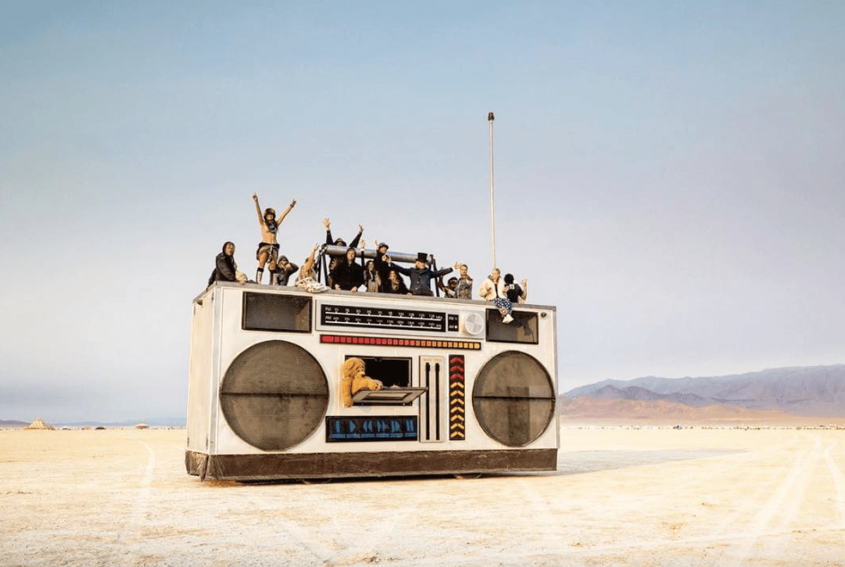 Faire le Burning Man Playa dance
