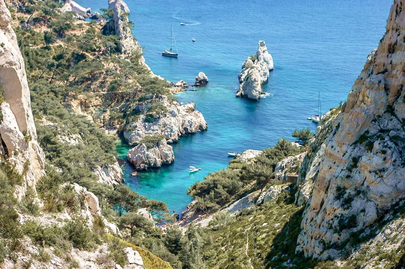 Plus belles calanques Marseille - Calanque Sugiton