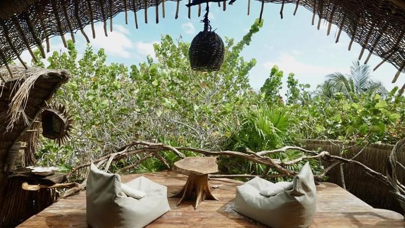 Hotel Tulum Ikal vue - FMR blog Voyage - Guide Yucatan