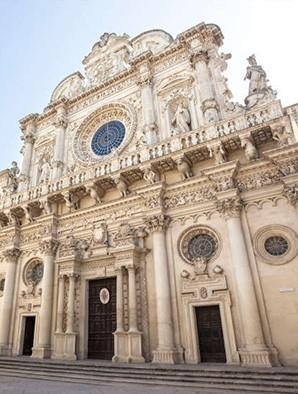 Lecce cathedrale Top ville les Pouilles