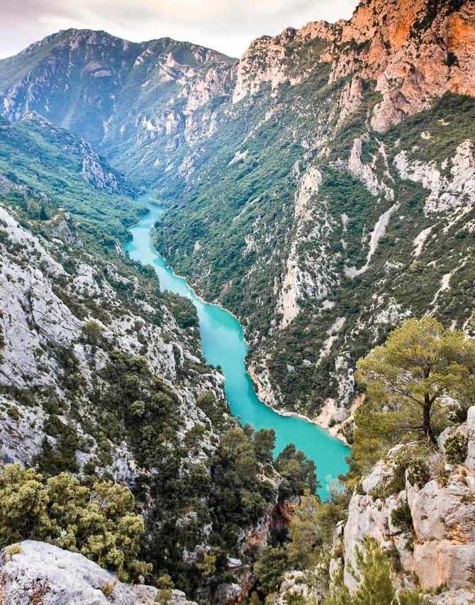 Visiter Gorges du Verdon - randonnée Blanc-Martel -