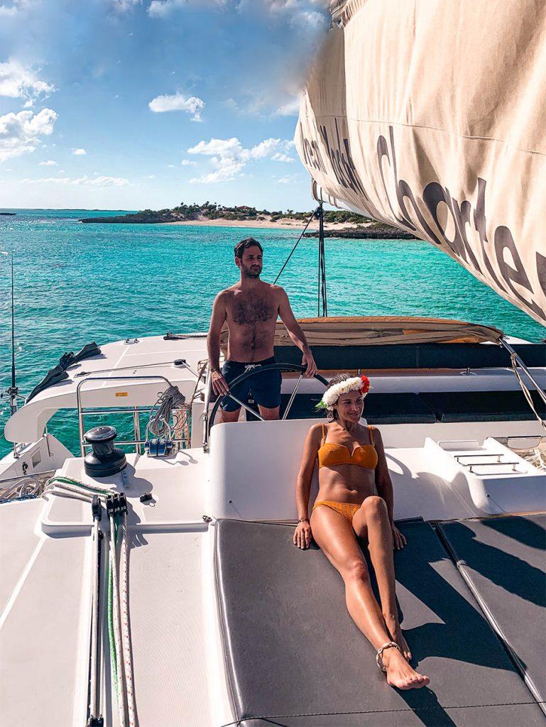 Bahamas Catamaran Lagoon 450