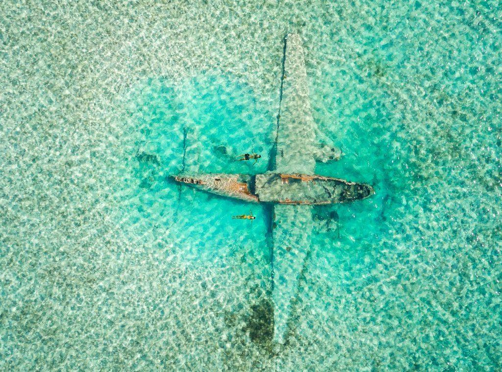 PABLO EXCOBAR WRECK-epave avion bahamas FMR blogvoyage