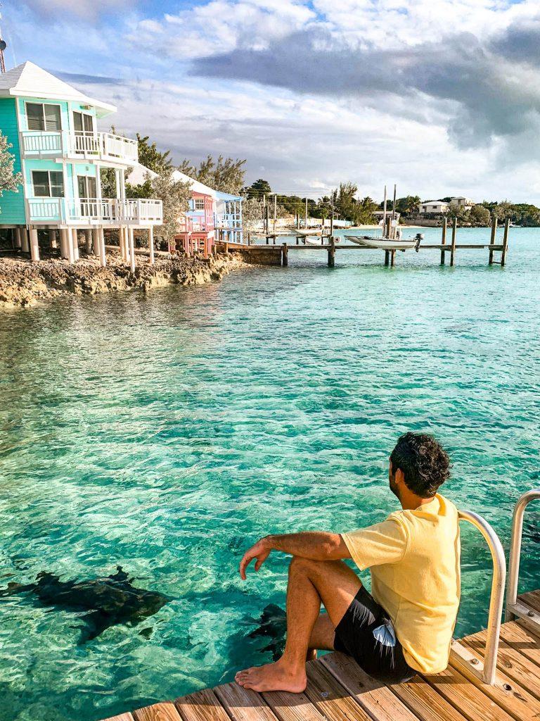 Staniel Cay Exumas - Croisière Bahamas FMR blogvoyage